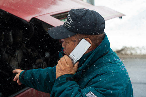 Ringing for repairs