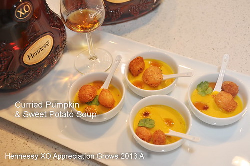Hennessy XO Appreciation Grows 2013 Curried Pumpkin Soup