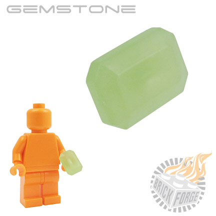 Gemstone - Glow in the Dark (Moonstone)