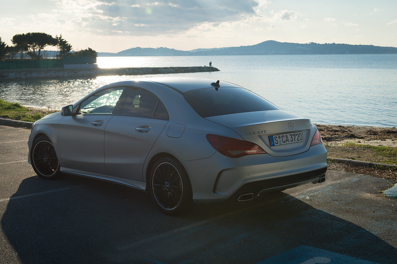 2013, Mercedes-Benz CLA 250 in Marseille, Frances