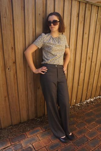 Burda Style 12-2009-118 trousers