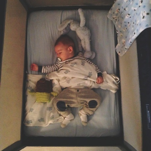 Nap time with any kind of swaddle!! Our little bubba is growing up :) xoxox