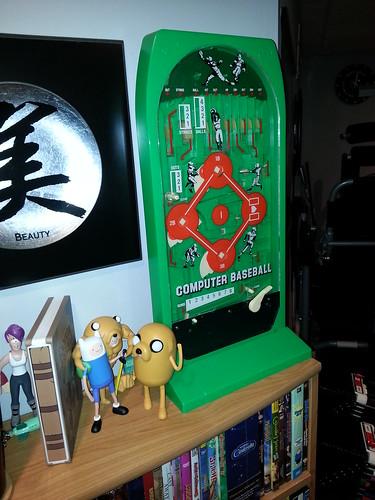 "A classic Computer Baseball. It's a really clever mechanical ""computer"" toy."