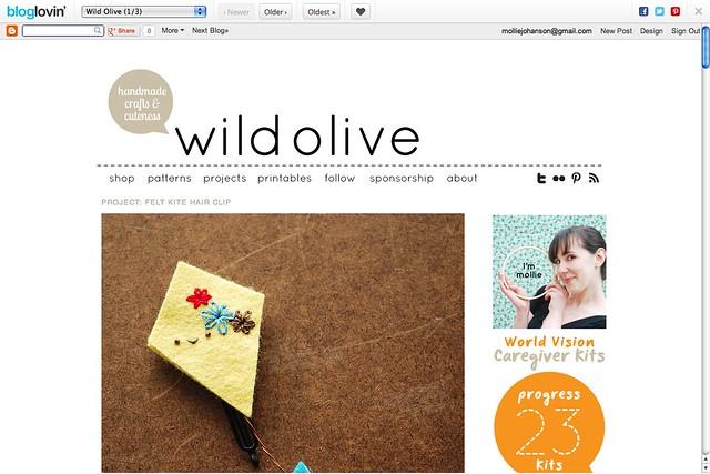 Wild Olive Snap