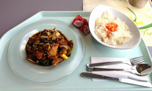 Seelachsfilet in Massaman-Curry / Coalfish in massaman curry