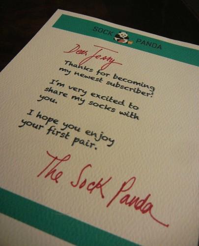 March Panda Letter