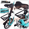 186-204 STRIDA 16吋LT版折疊單車(碟剎)消光湖水綠色2013年版5