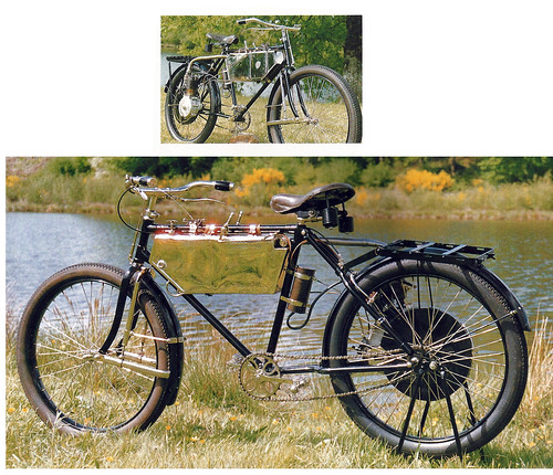 Georgia Knap 250cc 1903 ( NL ) by vintage-revival