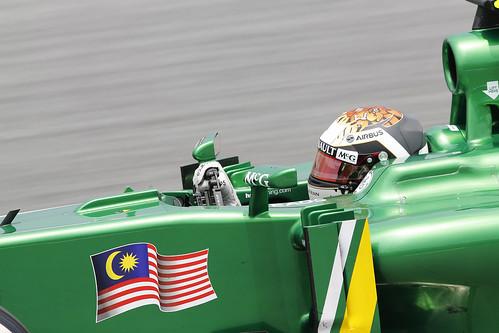 Giedo van der Garde, 2013 Malaysian Grand Prix - Friday
