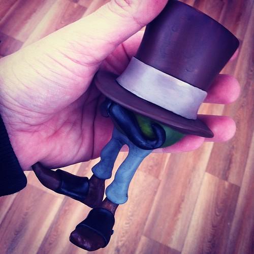 Special one off custom Harrington for @toyconuk #toyconuk #resin by [rich]
