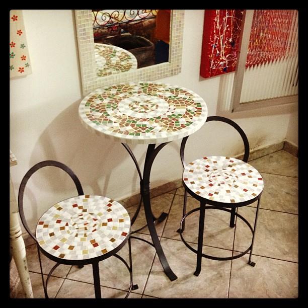Mais um conjunto pronto! #mosaic #mosaico #alemdarua #atelier #varanda