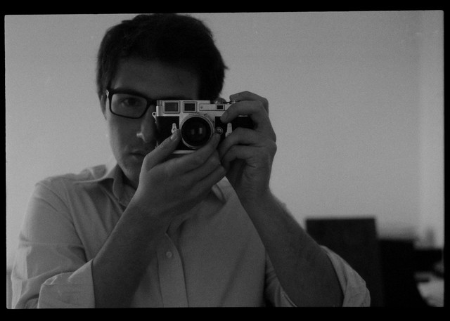 Self Portrait mit Leica M3