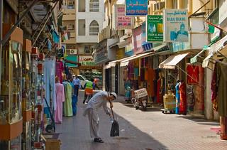 Dans le vieux Dubai à Deira