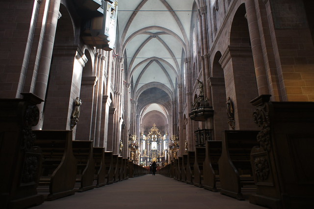 Worms Cathedral interior