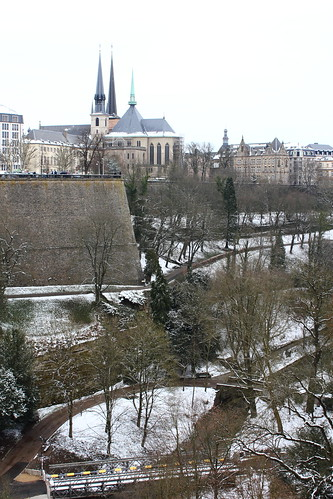 View from Adolphe Bridge