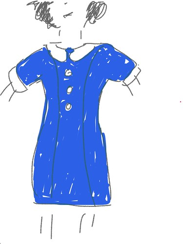 Pan Am Kleid Idee 1