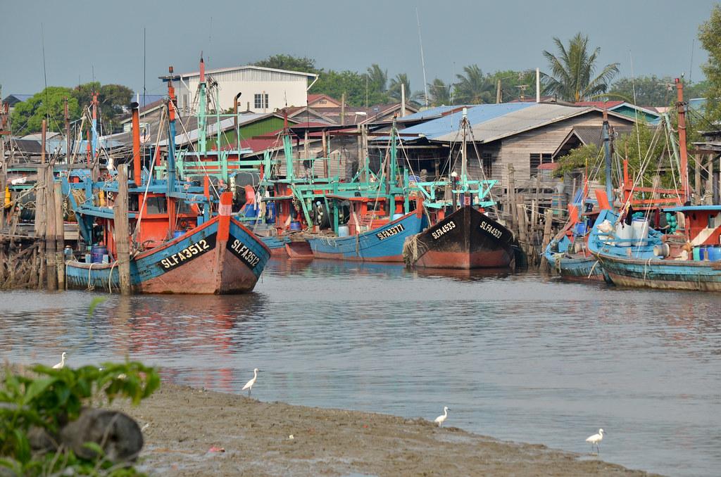 Sekinchan Fishing Village 适耕庄漁村