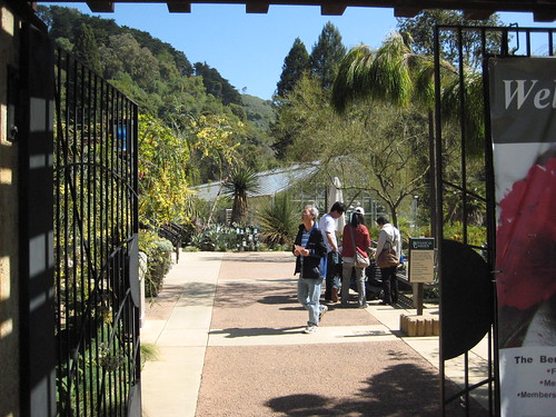 UC Berkeley Botanical Garden Entrance
