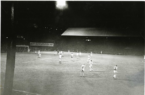 1960 v Hibs - 1st game under spotlight