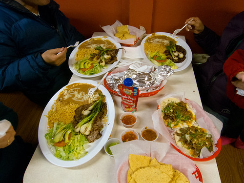 Food at Taqueria El Farolito 2