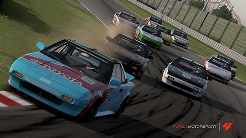 MR2 Challenge @ Suzuka - GretzkiAL leading at the first corner