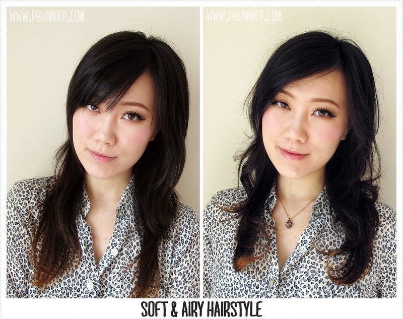 Soft Airy Japanese Inspired Hairstyle -03
