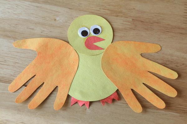 Hand-print Chick (O-13)