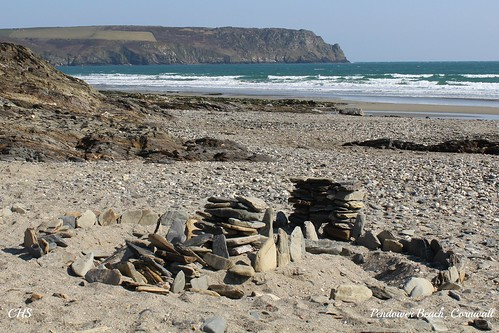 Pendower Beach, Cornwall by Stocker Images