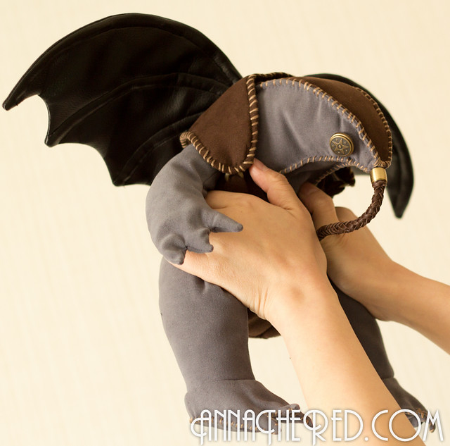 stuffed stuff: Songbird from BioShock Infinite