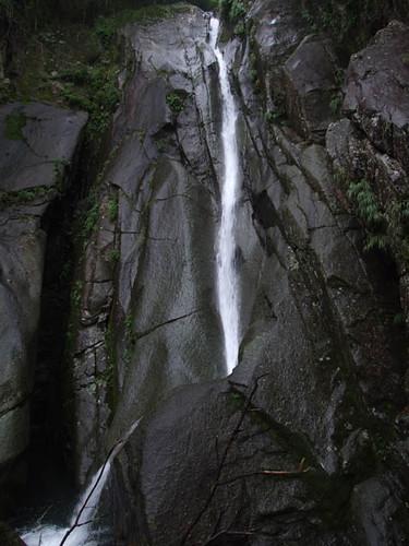 朝日滝二の滝 2011.8.6-1