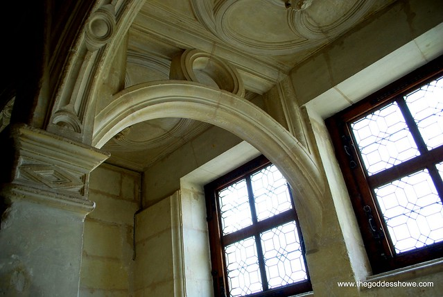 Chenonceau Staircase windows
