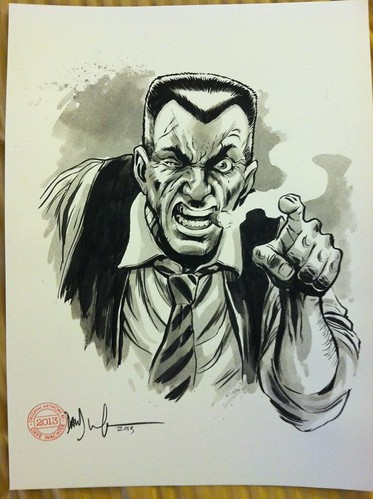 J. Jonah Jameson by Dave Wachter
