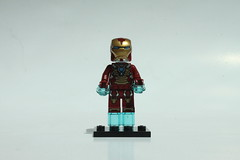 LEGO Marvel Super Heroes Iron Man vs. The Mandarin: Ultimate Showdown (76008) - Iron Man (Mark 17 - Heartbreaker Armor)