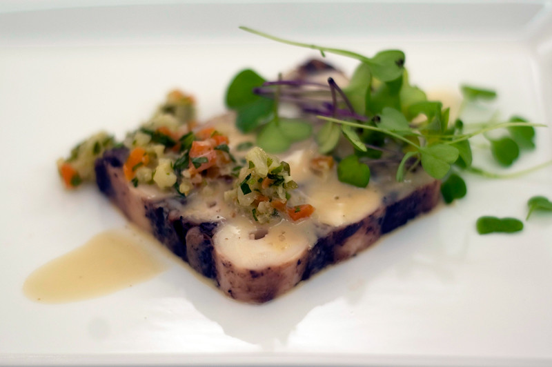 Salada de polvo, chef Henrique Mouro, Assinatura