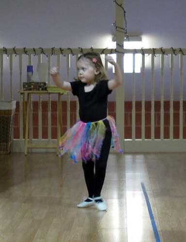 Lily's last ballet class