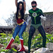 Wonder Woman, Green Lantern