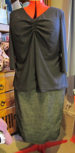 Refashioned skirt
