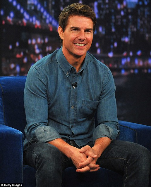 Tom Cruise in Double Denim