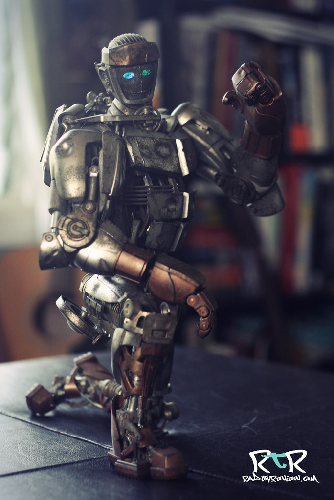 Review 3a Real Steel Atom Rad Toy Review