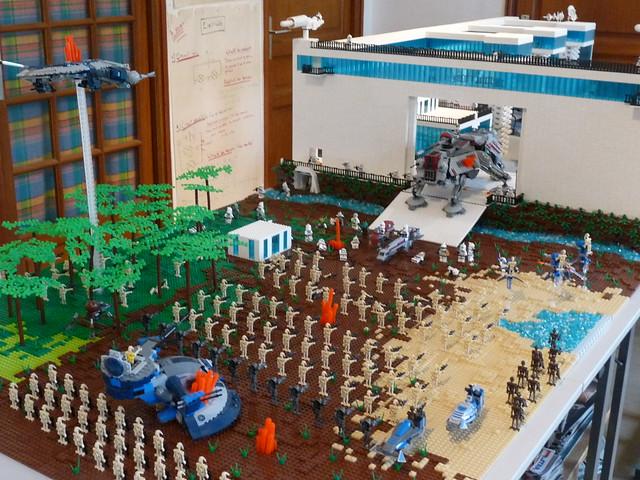 Brick Builder Creation Base Star Wars