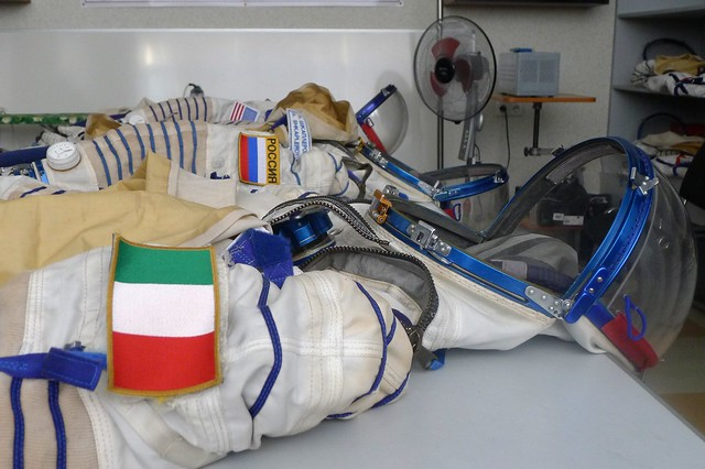 Our Sokol suit after the sim