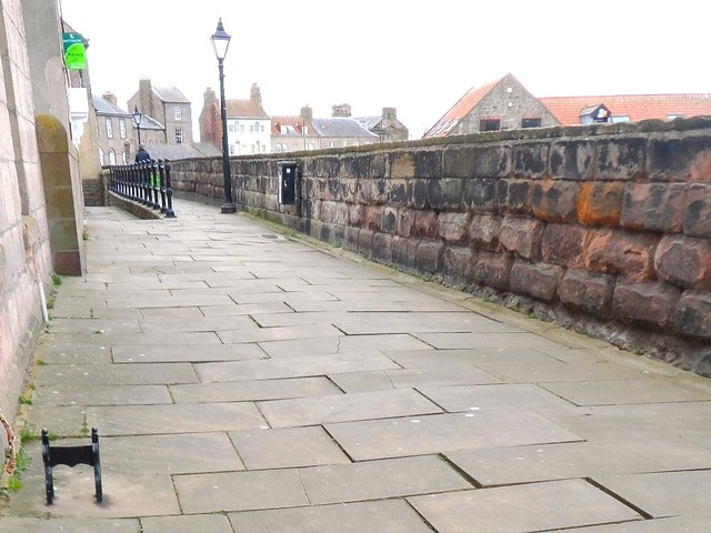 Berwick upon Tweed town walls