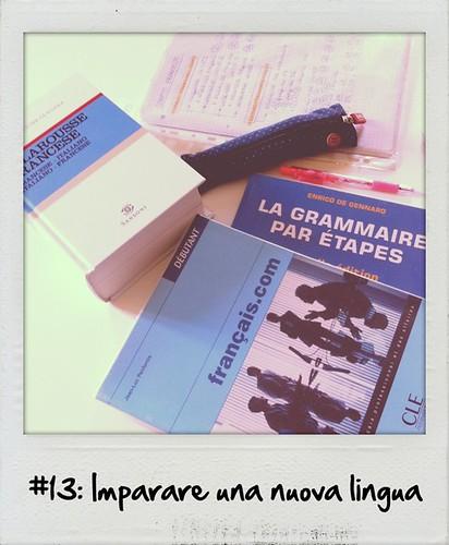 #13: Imparare una nuova lingua – FATTO (#30before30)