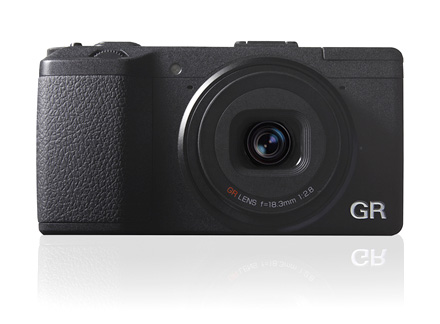 The new Ricoh GR, with almost the same dimensions as the GRD IV, with a much bigger APS-C sized sensor inside.