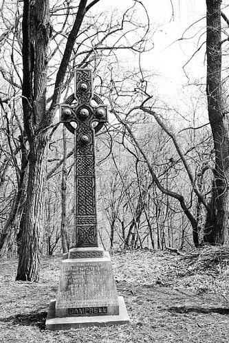 Celtic cross, St. James cemetery, Toronto