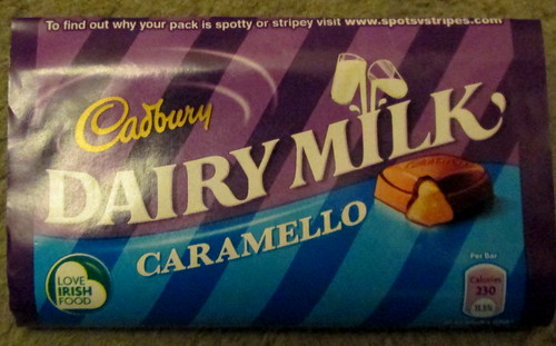 Cadbury's Caramello Wrapper
