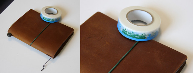 Midori Star Notebook With Tape