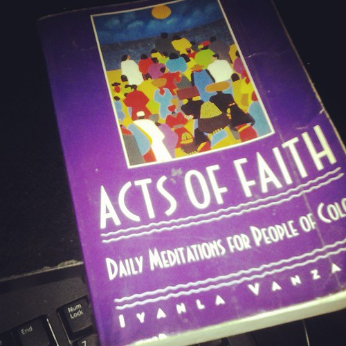 Found copy of Iyanla Vanzant's #actsofaith that I got Christmas 1994.