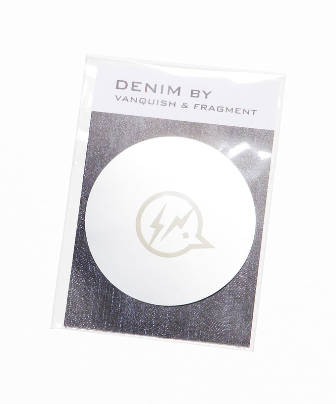 Denim by Stencil Light Sticker | Vanquish