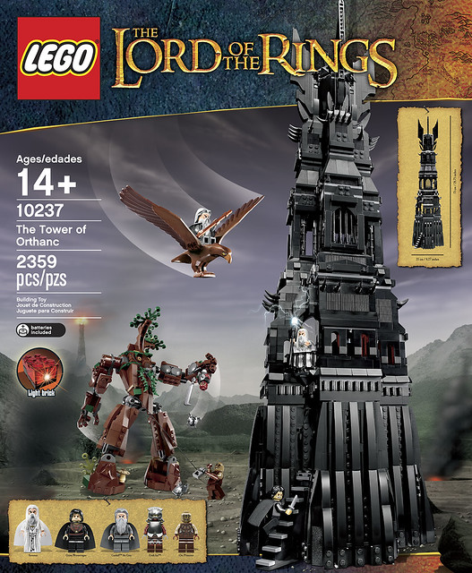 LEGO The Lord of the Rings 10237 - Tower of Orthanc - BoxArt